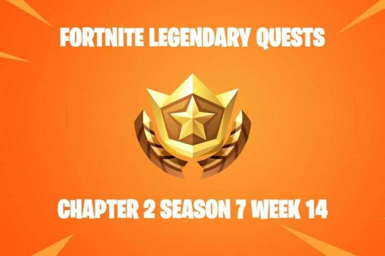 Title for Fortnite Legendary Quests C2S7W14