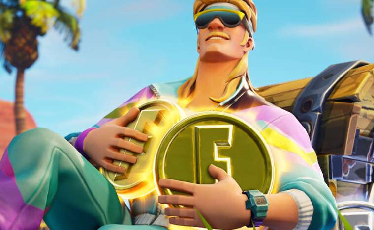 Fortnite featured Xp coins image