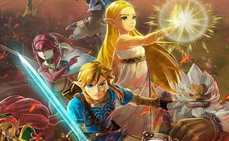 New artwork for brand new game Hyrule Warriors: Age of Calamity