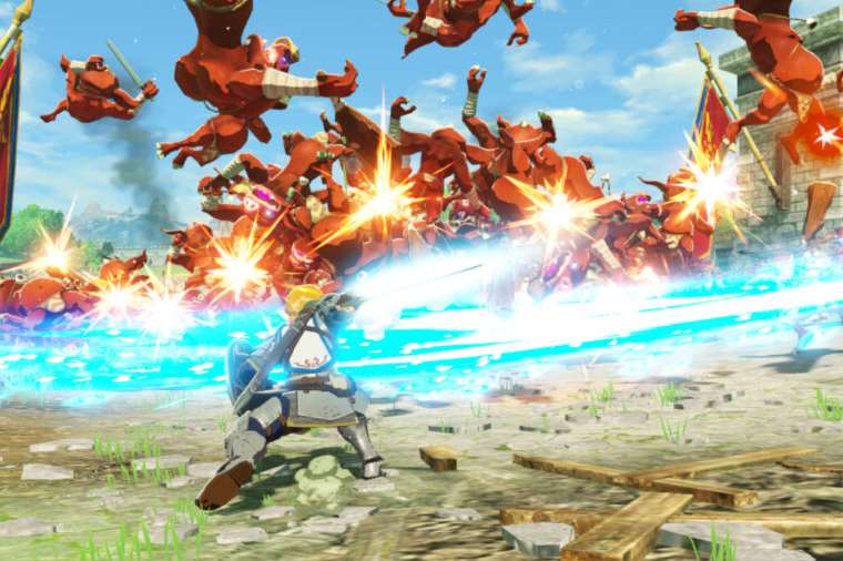 SCreenshot from upcoming game Hyrule Warriors: Age of Calamity