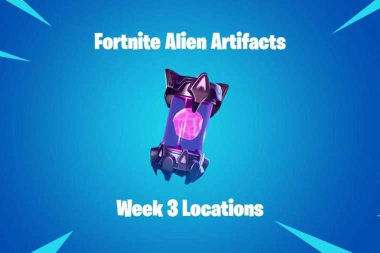 The title for the Alien Artifact Location Cheat Sheet