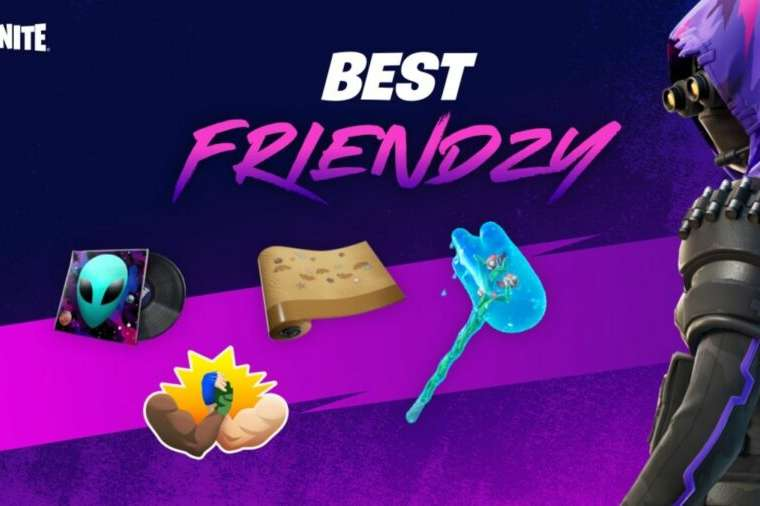 The Best Friendzy title in Fortnite