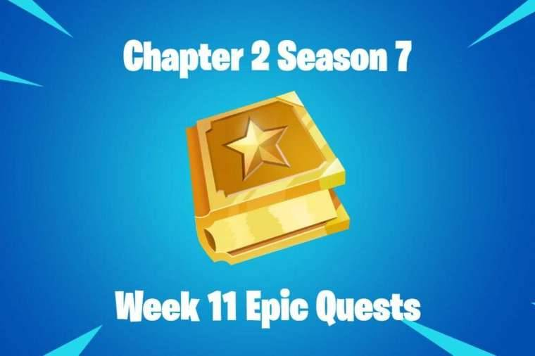 The title for Fortnite Chapter 2 Season 7 Week 11 Epic Quests.