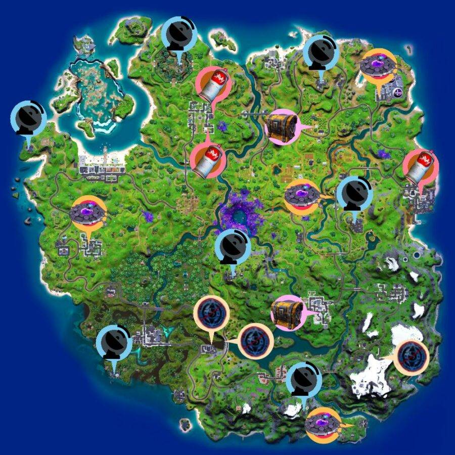 The cheat sheet map for Epic Quests in C2S7W2.