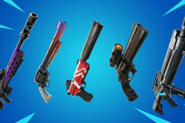 Exotic Weapons in Fortnite Chapter 2 Season 7.