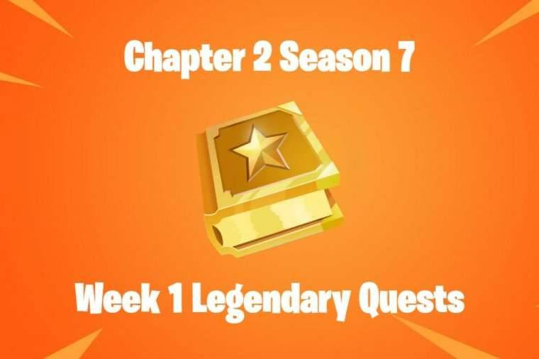Title for Fortnite Chapter 2 Season 7 Week 1 Legendary Quests.