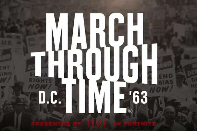 March Through Time Title