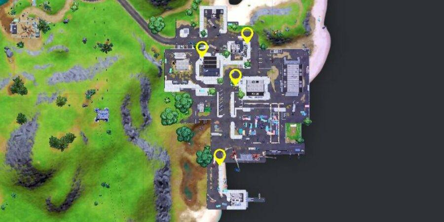 Warning sign locations in Dirty Docks c2s7w14