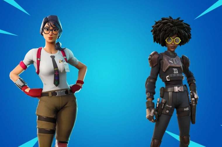 Maven and Doctor Slone in Fortnite
