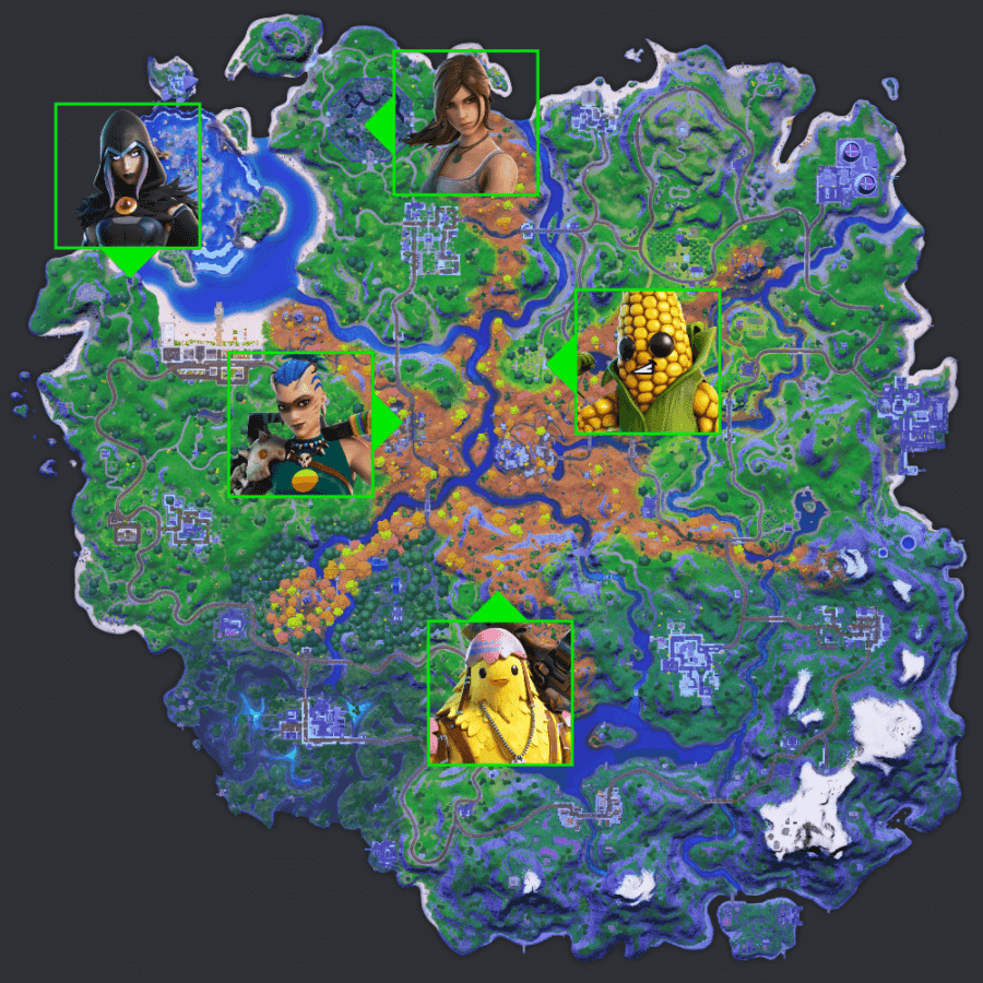 Where to gather information from NPCs.