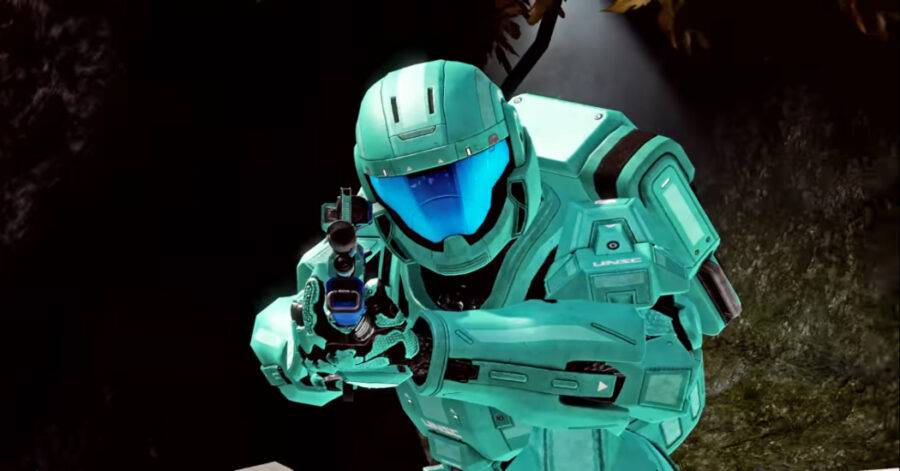 Screenshot of Halo: The Master Collection gameplay trailer