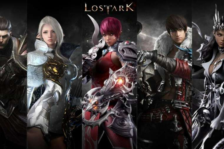 All the classes in Lost Ark.