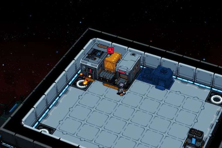 An active fire in Starmancer