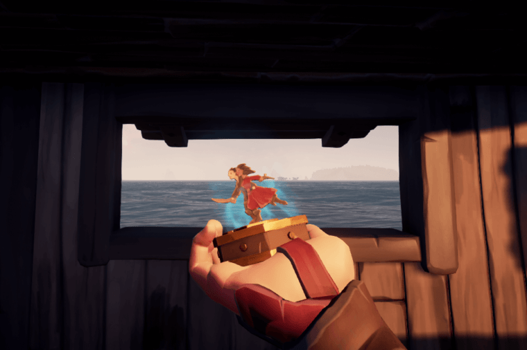 The George and Rose Compass in Sea of Thieves.