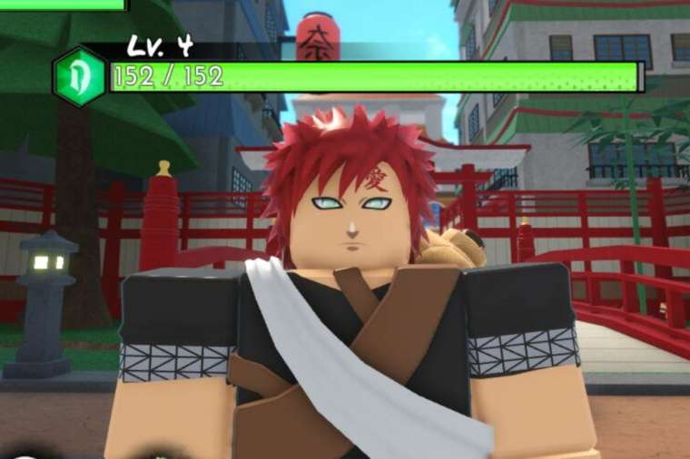 A Character in Roblox Anime Warriors