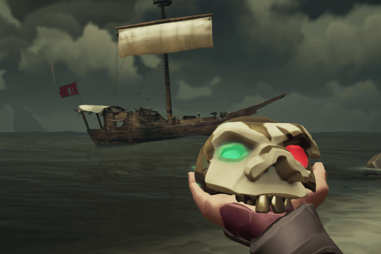 Briggsy's Skull from Sea of Thieves.