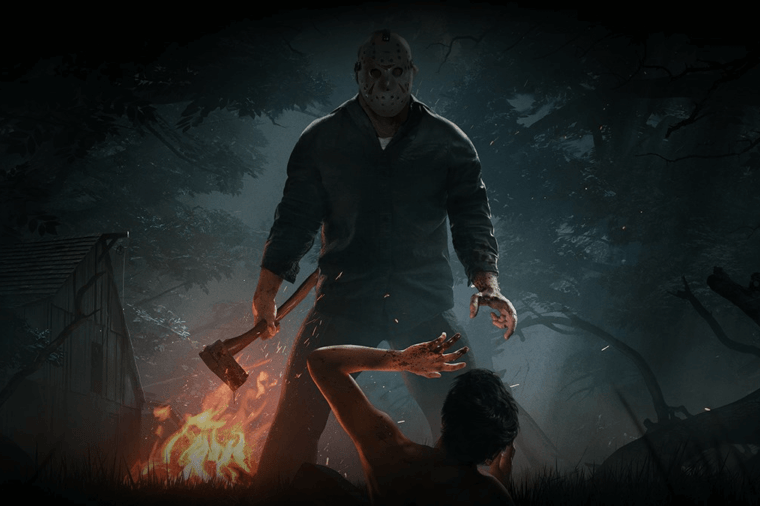 The Title Image for Friday the 13th: The Game