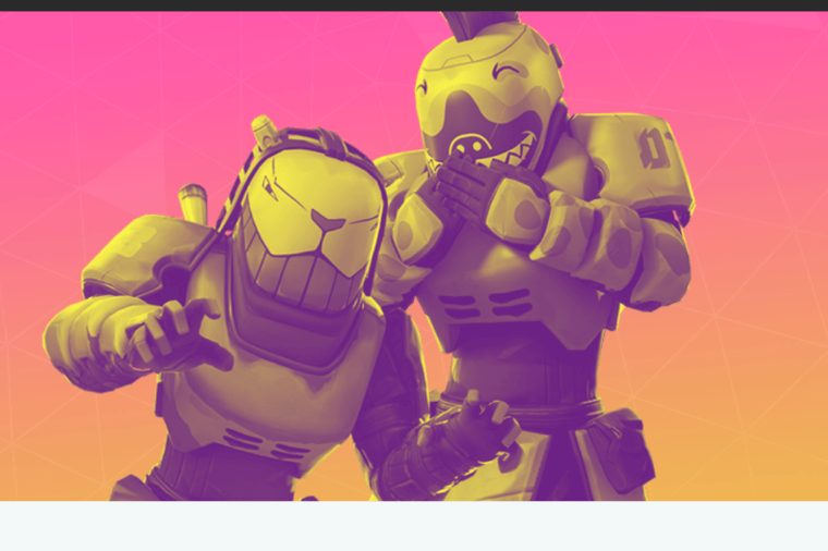 An image of two Fortnite characters.