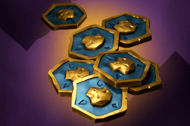 Ancient Coins in Sea of Thieves.