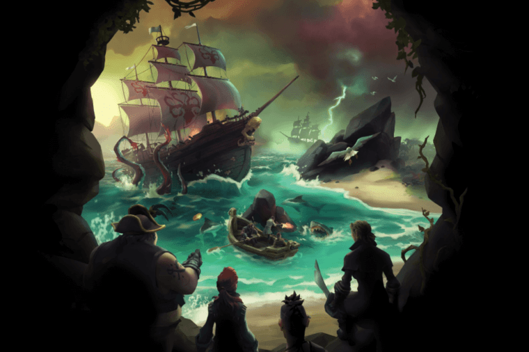 Sea of Thieves Title Image.