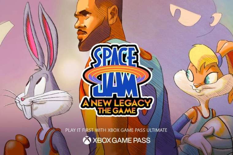 space jam a new legacy game cover