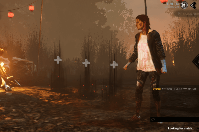 A Mock Dead by Daylight Chat Filter.